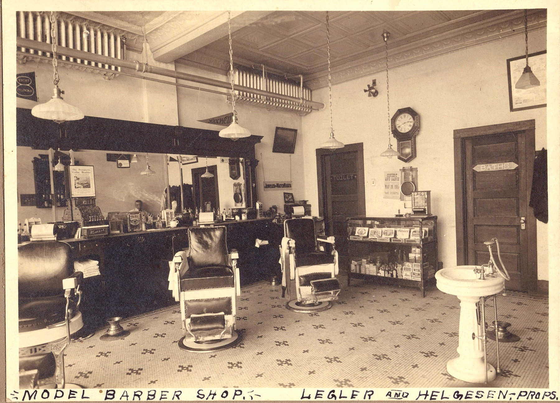 Barber Shop Manchester Nh : Burton Stewart also gave up barbering and worked for a short time with ...